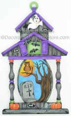 Haunted House Lantern Pattern - Jeanne Bobish - PDF DOWNLOAD