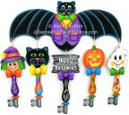Halloween Keys Ornaments Pattern - Jeanne Bobish - PDF DOWNLOAD