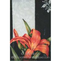 Red Daylily ePattern - Judy Ribitch - PDF DOWNLOAD
