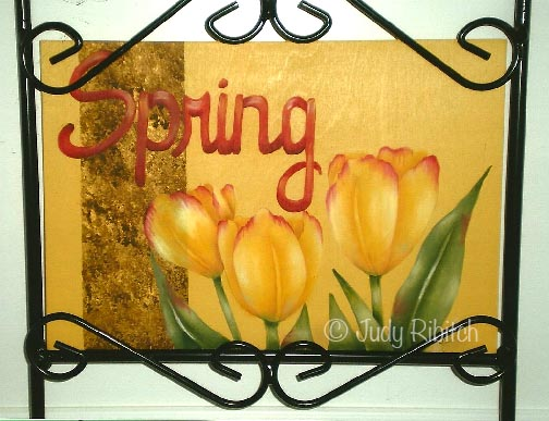 Its Spring ePattern - Judy Ribitch - PDF DOWNLOAD