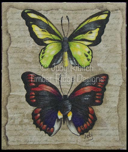 Butterfly & Moth Sampler e-Pattern - Judy Ribitch - PDF DOWNLOAD