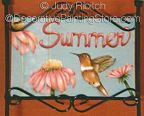 Summer Lawn Sign ePattern - Judy Ribitch - PDF DOWNLOAD