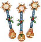 Joy Ginger Spoon Ornaments BY DOWNLOAD