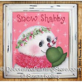 Snow Shabby ePacket - Susan Kelley - PDF DOWNLOAD