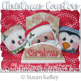 Christmas Coasters ePacket - Susan Kelley - PDF DOWNLOAD