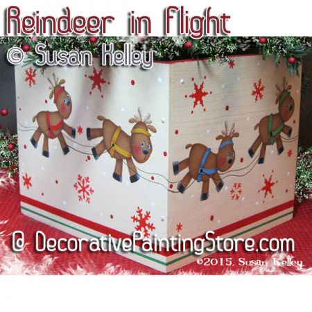 Reindeer in Flight ePacket - Susan Kelley - PDF DOWNLOAD
