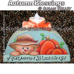 Autumn Blessings ePacket - Susan Kelley - PDF DOWNLOAD