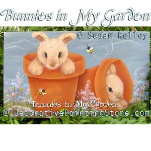 Bunnies in My Garden ePacket - Susan Kelley - PDF DOWNLOAD