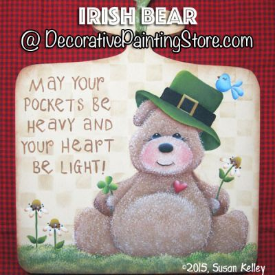 Irish Bear ePacket - Susan Kelley - PDF DOWNLOAD