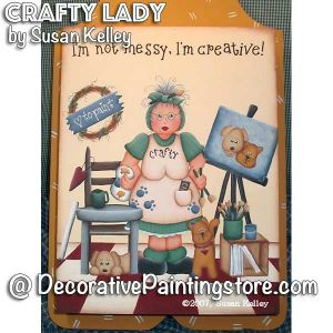 Crafty Lady ePacket - Susan Kelley - PDF DOWNLOAD