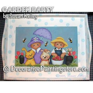 Garden Party ePacket - Susan Kelley - PDF DOWNLOAD