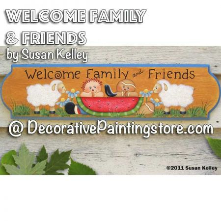 Welcome Family and Friends ePacket - Susan Kelley - PDF DOWNLOAD
