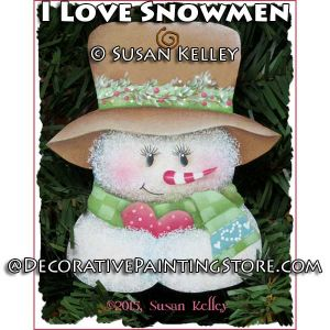 I Love Snowmen ePacket - Susan Kelley - PDF DOWNLOAD