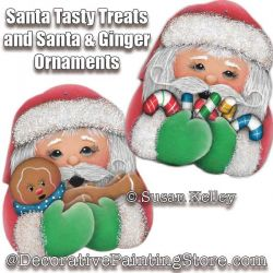 Santas Tasty Treats and Ginger Ornaments ePacket - Susan Kelley - PDF DOWNLOAD