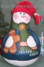 Snowman and Ginger Gourd ePacket - Susan Kelley - PDF DOWNLOAD