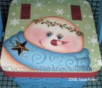 Snowman Gift Basket ePacket - Susan Kelley - PDF DOWNLOAD