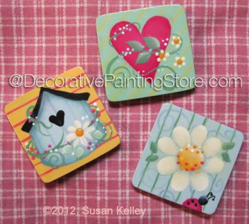 Spring Magnets ePacket - Susan Kelley - PDF DOWNLOAD