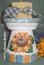 Sunflower Candle Holder ePacket - Susan Kelley - PDF DOWNLOAD
