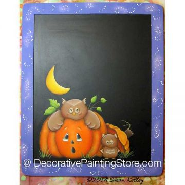 Owl-O-Ween ePacket - Susan Kelley - PDF DOWNLOAD