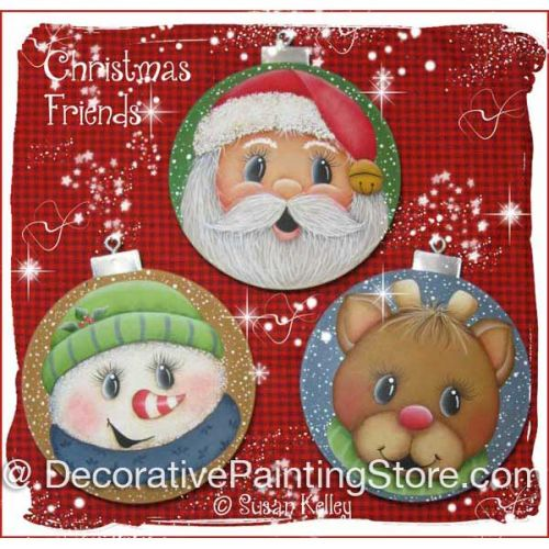 Christmas Friends ePacket - Susan Kelley - PDF DOWNLOAD