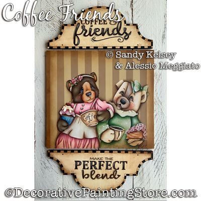 Coffee Friends PDF DOWNLOAD - Sandy Kelsey and Alessio Meggiato