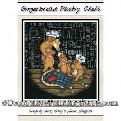 Gingerbread Pastry Chefs PDF DOWNLOAD - Sandy Kelsey and Alessio Meggiato