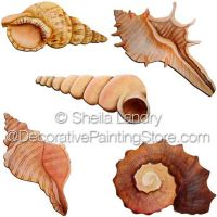Seashell Ornaments Set B ePattern - Sheila Landry