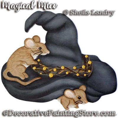 Magical Mice Ornament ePattern - Sheila Landry - PDF DOWNLOAD