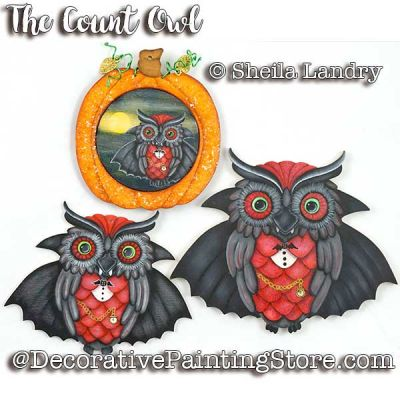 The Count Owl ePattern - Sheila Landry - PDF DOWNLOAD
