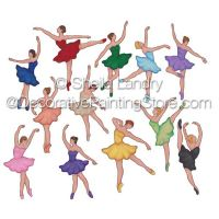 Tiny Dancer Ballerinas ePattern - Sheila Landry