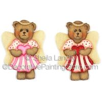 Valentine Angel Bear Ornaments and Pins ePattern - Sheila Landry