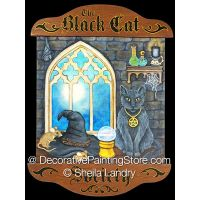 Black Cat Society ePattern - Sheila Landry