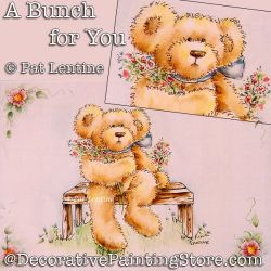 A Bunch for You  DOWNLOAD Painting Pattern - Pat Lentine