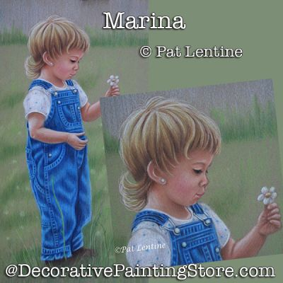 Marina Colored Pencil DOWNLOAD Painting Pattern - Pat Lentine