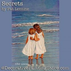 Secrets Colored Pencil DOWNLOAD Painting Pattern - Pat Lentine