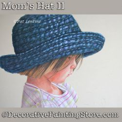 Moms Hat II Colored Pencil DOWNLOAD Painting Pattern - Pat Lentine