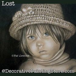 Lost Colored Pencil DOWNLOAD Painting Pattern - Pat Lentine