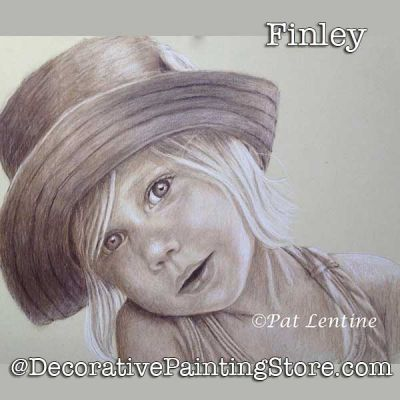 Finley Colored Pencil DOWNLOAD Painting Pattern - Pat Lentine