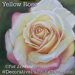 Yellow Rose Pastels DOWNLOAD Painting Pattern - Pat Lentine
