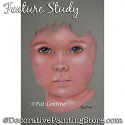 Feature Study (Colored Pencil) Painting Pattern PDF DOWNLOAD Painting Pattern - Pat Lentine
