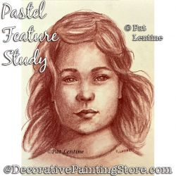 Pastel Feature Study DOWNLOAD Painting Pattern - Pat Lentine