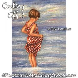 Cooling Off 2 Colored Pencil DOWNLOAD Painting Pattern - Pat Lentine