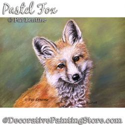 Fox Pastel DOWNLOAD Painting Pattern - Pat Lentine