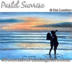 Pastell Sunrise DOWNLOAD Painting Pattern - Pat Lentine