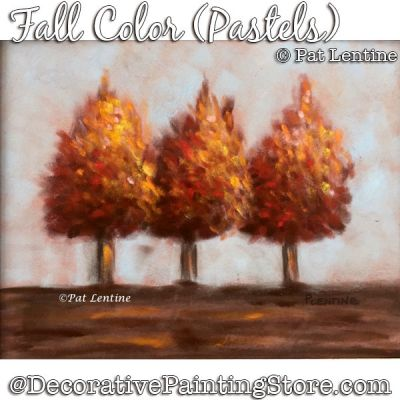 Fall Color Pastel DOWNLOAD Painting Pattern - Pat Lentine