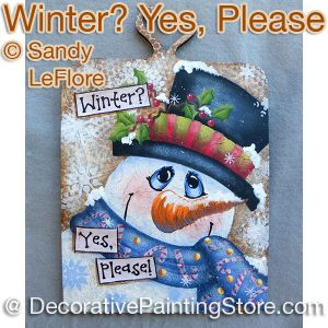 Winter Yes Please ePattern - Sandy LeFlore - PDF DOWNLOAD