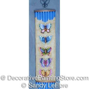 Butterfly Banner ePattern - Sandy LeFlore - PDF DOWNLOAD