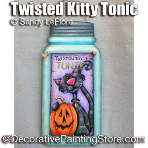 Twisted Kitty Tonic ePattern - Sandy LeFlore - PDF DOWNLOAD