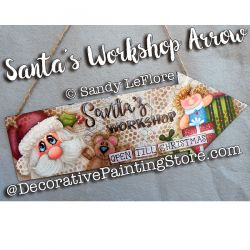 Santas Workshop Arrow ePattern - Sandy LeFlore - PDF DOWNLOAD