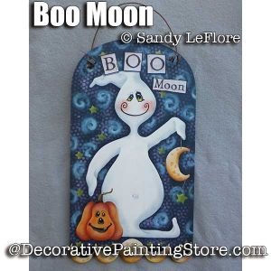 Boo Moon ePattern - Sandy LeFlore - PDF DOWNLOAD